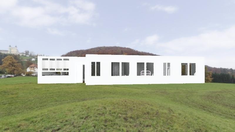 Casa 4 contenedores Interior Design Render