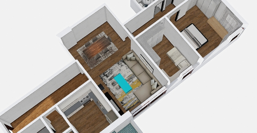 SANT'ANTONIO Interior Design Render