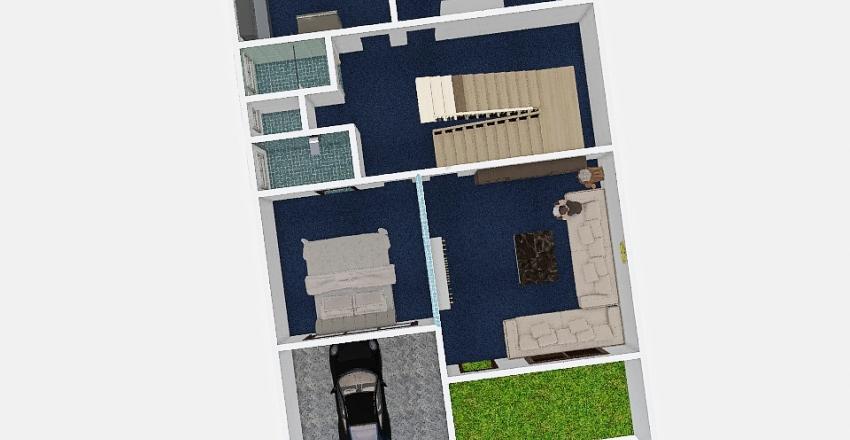mun_house Interior Design Render