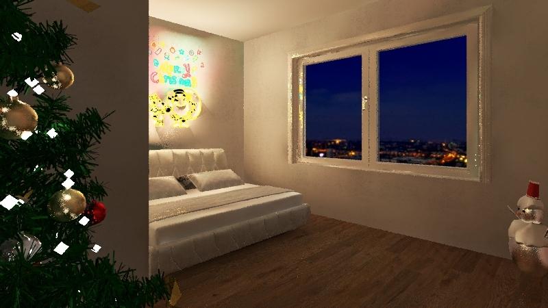 Christmas room for @jace Gar Social Interior Design Render
