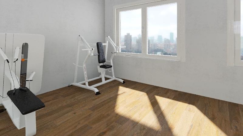 Let's get fit! Interior Design Render