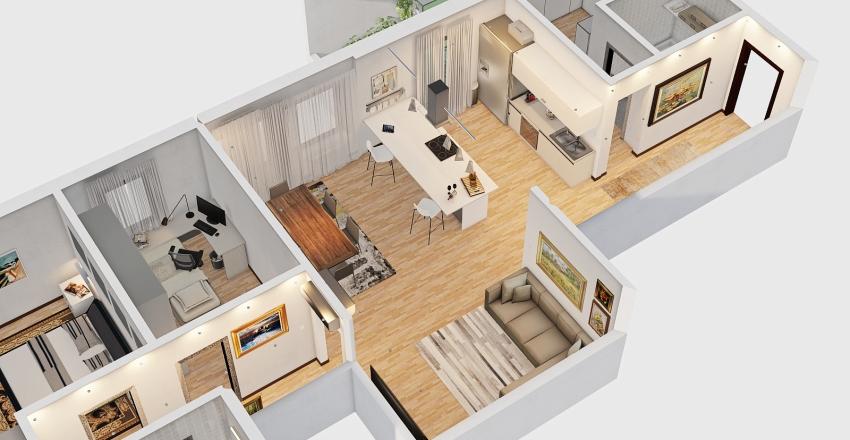 SANT'ANTONIO new layout MODERN Interior Design Render