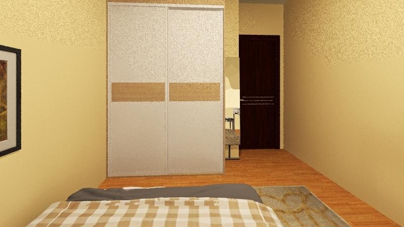 casa de 6m x 12m  Interior Design Render