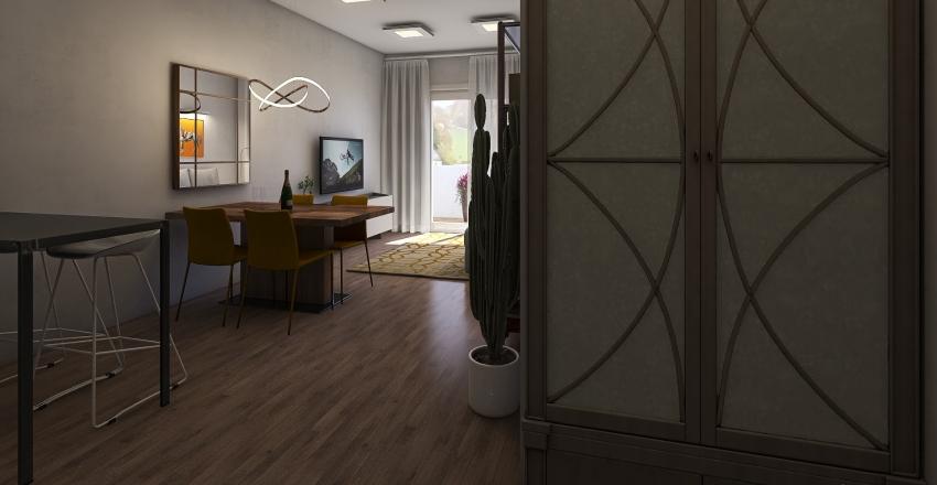 2 Bedroom in Calle Finlandia, Torrevieja Interior Design Render