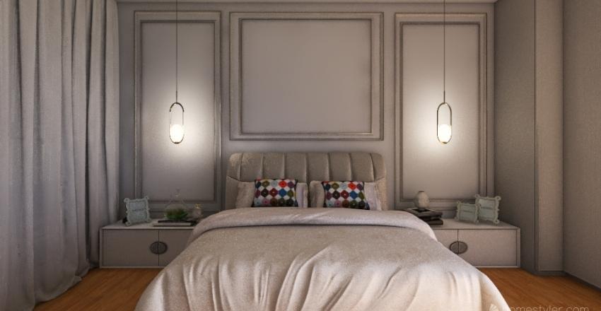 Projeto Suíte adaptada Interior Design Render
