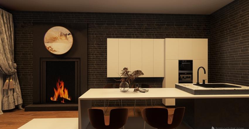 that winter feeling Interior Design Render