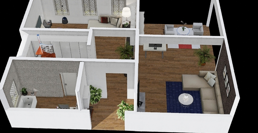 house floor 2  Interior Design Render