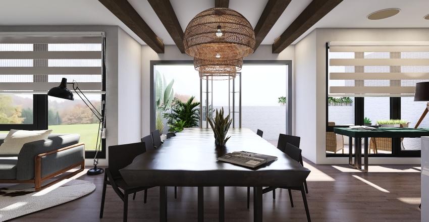 #HSDA2020Residential New York Apartment Interior Design Render