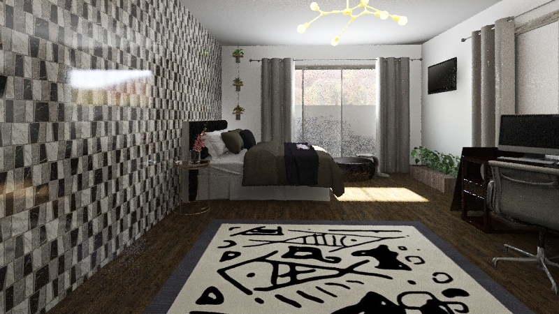 dreambedroom Interior Design Render