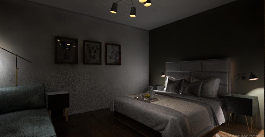 HABITACION UNO Interior Design Render
