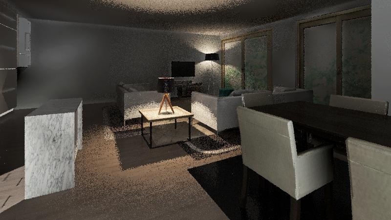 97 Trinity - GF extension v2 Interior Design Render