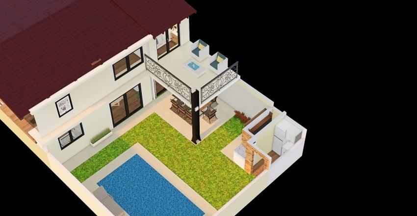 techo losa Interior Design Render