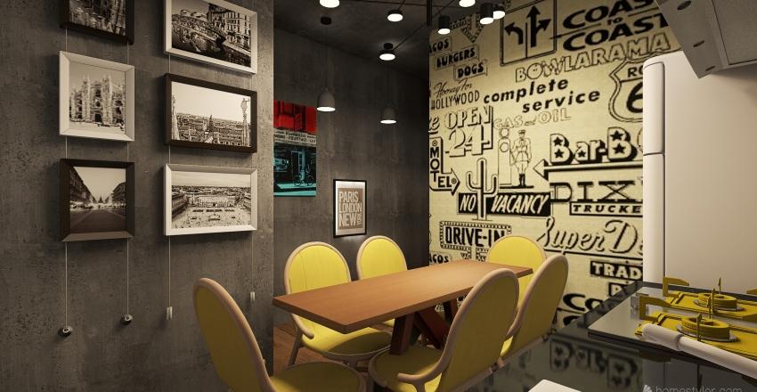 連家 Interior Design Render