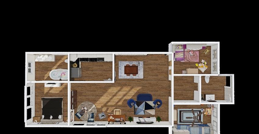 Client #1 House  Interior Design Render